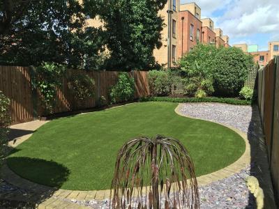 London,Mitcham-garden make over