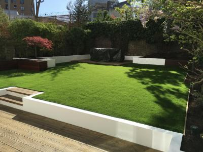 London, Kensington - garden makeover