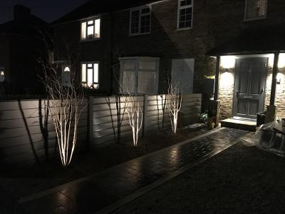 Carshalton, Front Garden Lighting