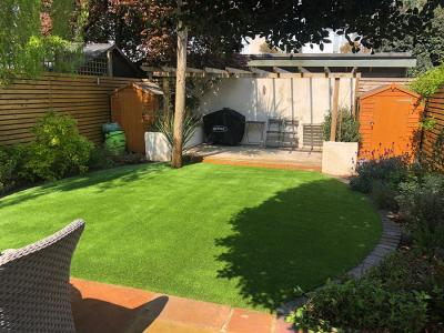 Barnes, Easigrass Installation