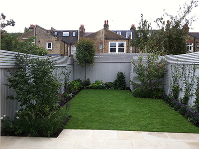 London, Fulham - back garden