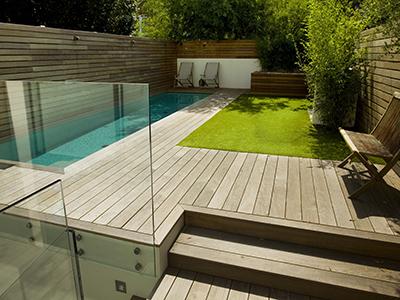 London, Fulham - back garden