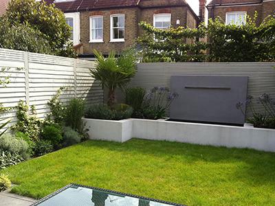 London, Kew - back garden