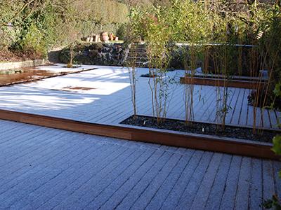 Surrey, Epsom - back garden