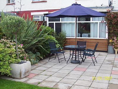 London, Mitcham - back garden