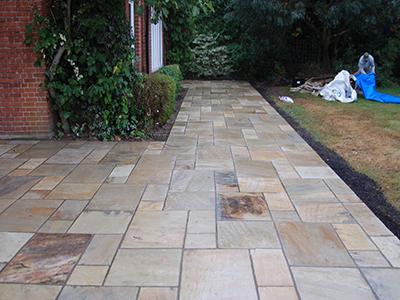 Surrey, Weybridge - back garden